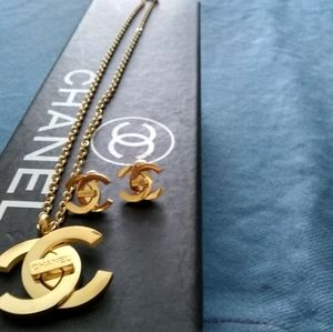 Authentic Chanel Combo Jewerly Set